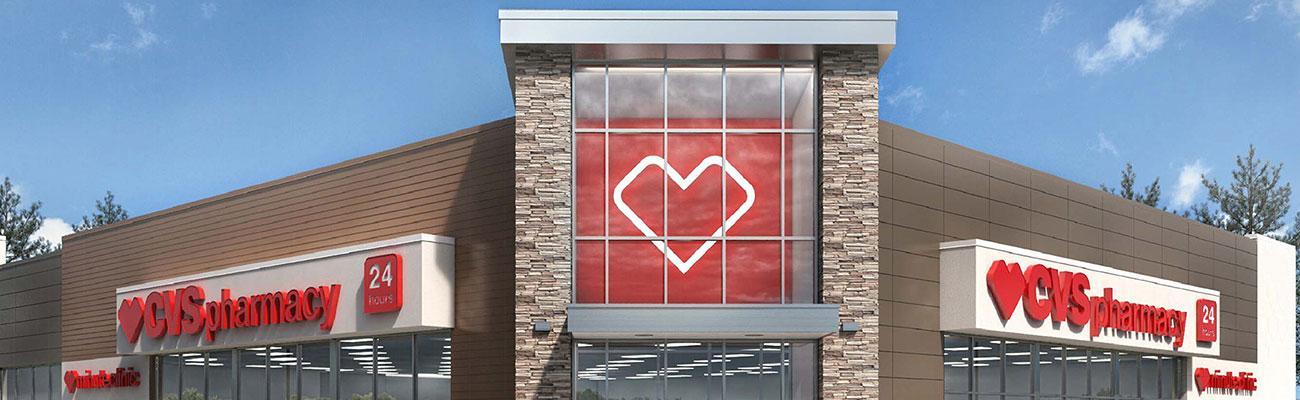 CVS storefront.
