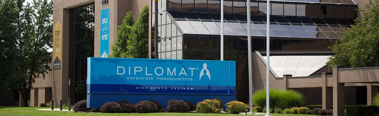 Diplomat headquarters.