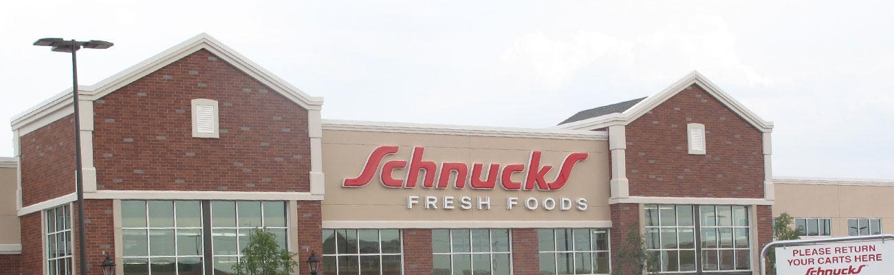 Schucks storefront.