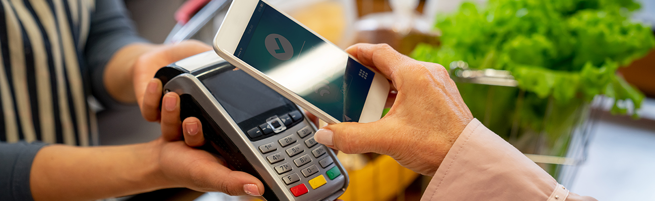In store mobile payment.