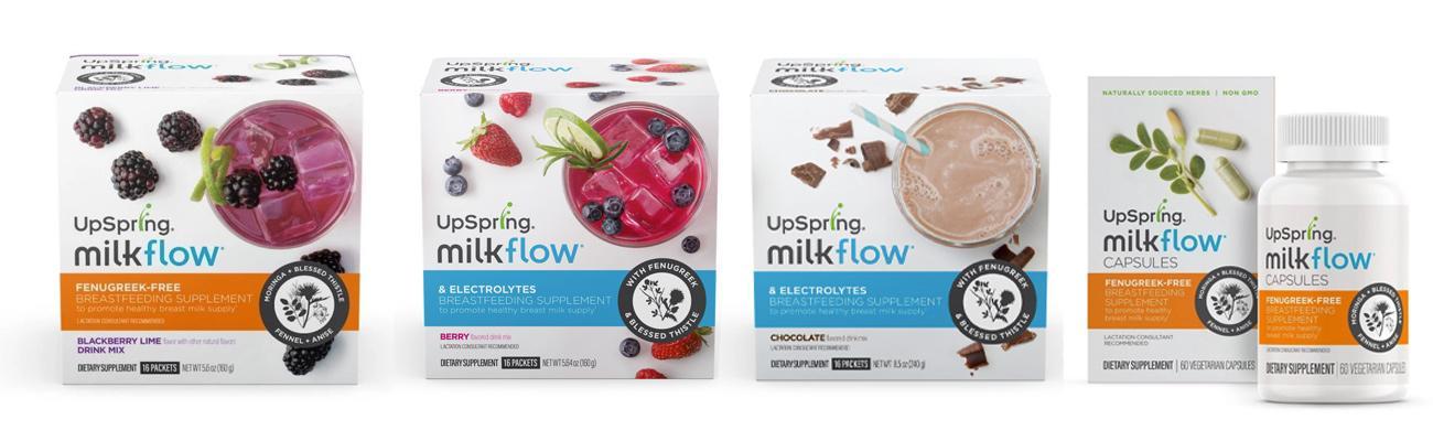Upspring Grows Milkflow Supplement Line Drug Store News