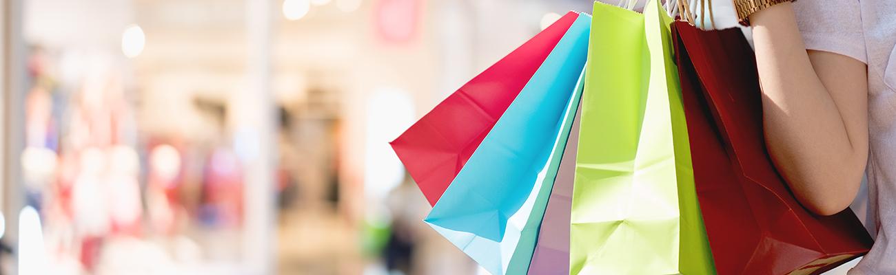 a close up of a colorful umbrella