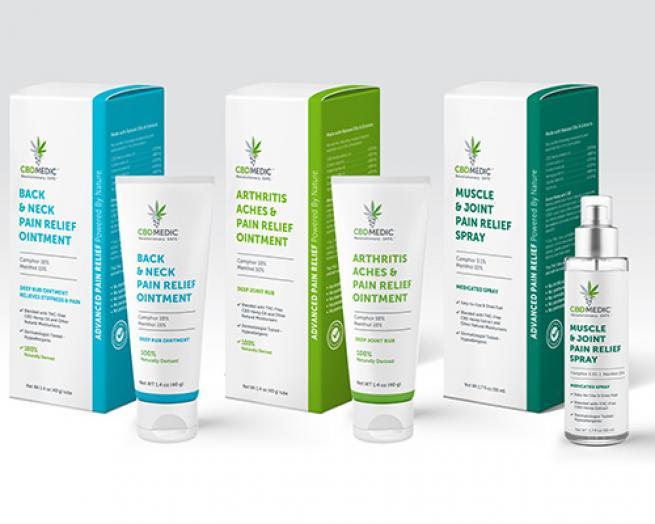 CBD Medic products