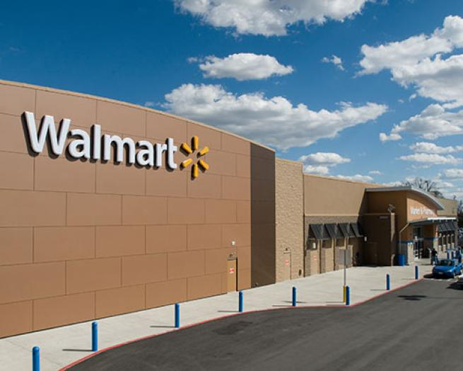Walmart exterior.