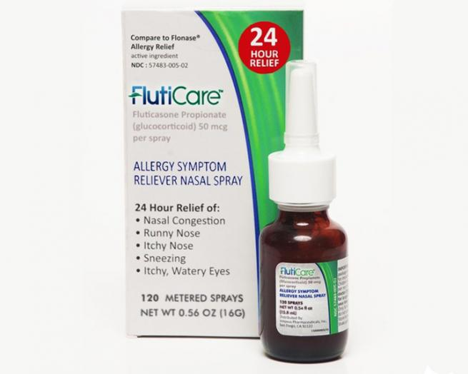 Innovus Launches Low Cost Nasal Spray Allergy Relief In Fluticare Drug Store News
