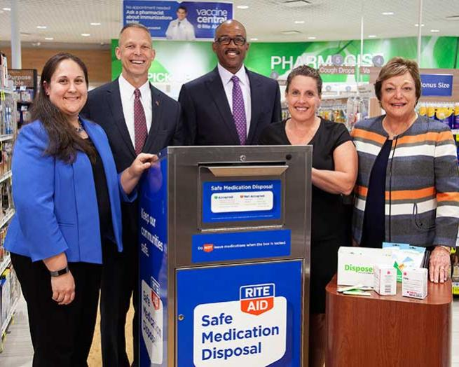 Rite Aid unveils in-store safe medication disposal program