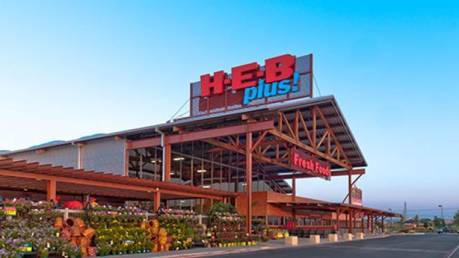 H-E-B plus exterior