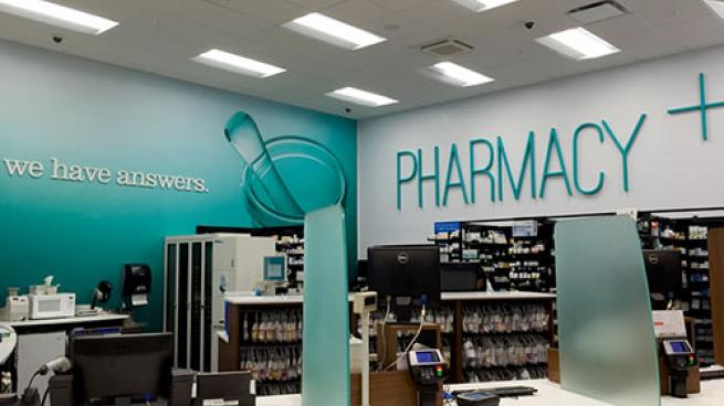 Market 32 pharmacy counter