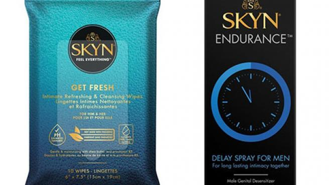 Skyn Get Fresh Wipes and Endurance delay spray