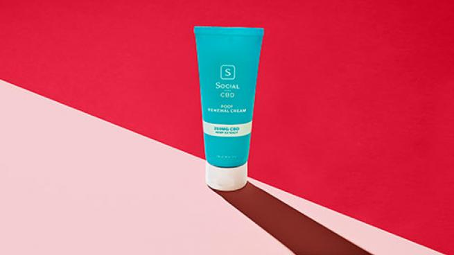 Social CBD Foot Renewal Cream