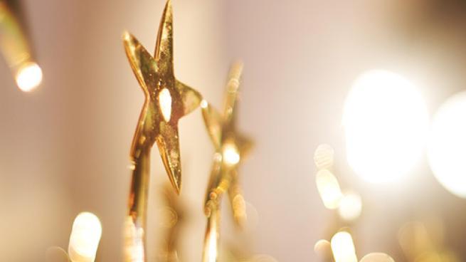 A star trophy award.