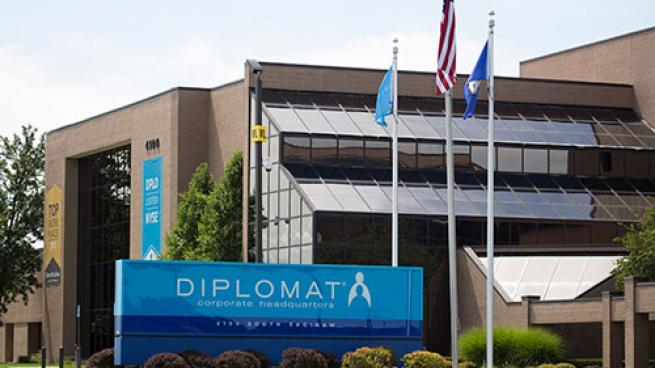 Diplomat headquarters.