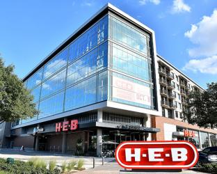 HEB Houston Buffalo Heights exterior