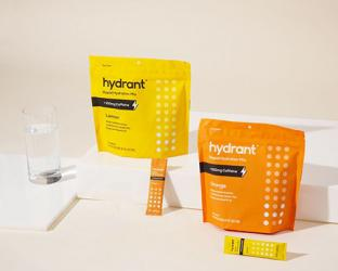 Hydrant + Caffeine Rapid Hydration Mix package