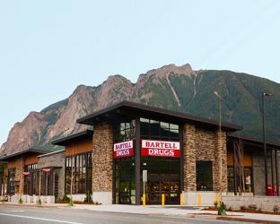 Bartell's storefront.