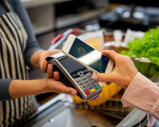 In-store mobile payment.