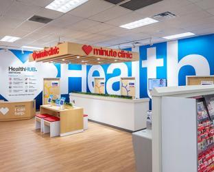 CVS Health hub.