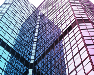 A skyscraper.