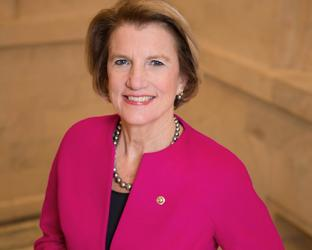 Shelley Moore Capito smiling for the camera