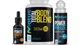 Modus Active drops, capsules and power freeze roll on